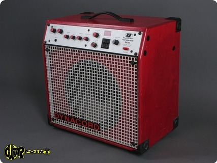 Dynacord Reference 500 / 65 Watt Tube Amp 1985 Red