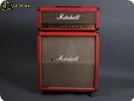 Marshall JCM800 2204 4x12 1986 Red Levant