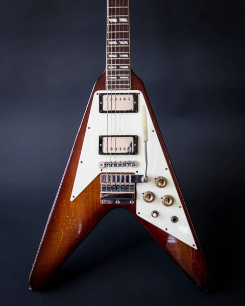 gibson flying v 1967 sunburst guitar for sale denmark street guitars. Black Bedroom Furniture Sets. Home Design Ideas