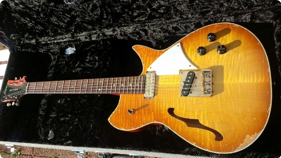 Fano Fano Alt De Facto Rb6 Thinline, Ice Tea Burst 2014 Ice Tea Burst