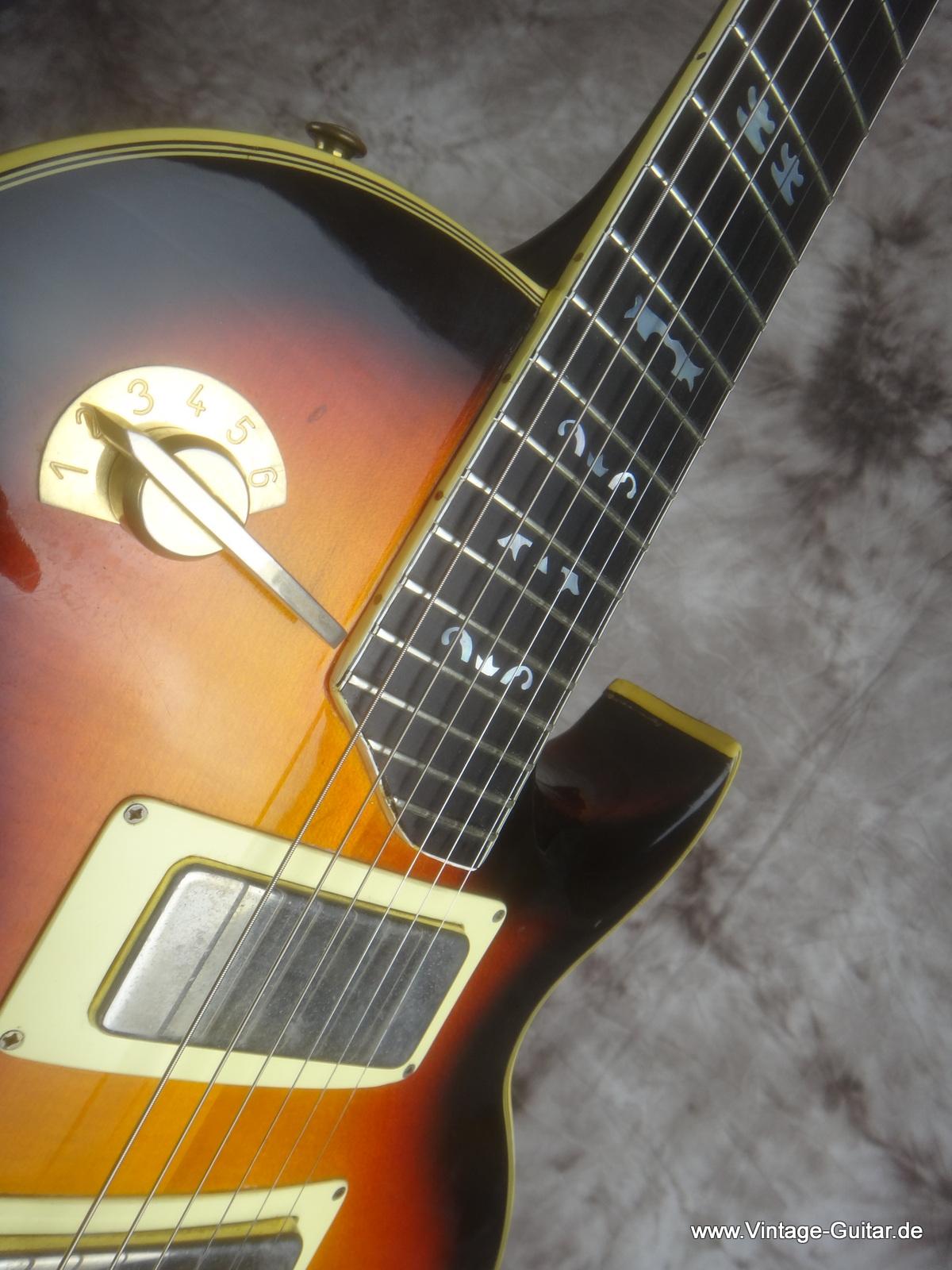 framus jan akkerman 1979 sunburst guitar for sale vintage guitar oldenburg