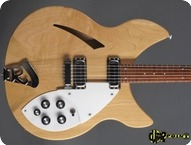 Rickenbacker 330 1980 Mapleglo Natural