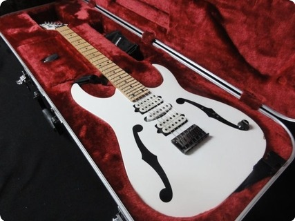 Ibanez Pgm 301 Paul Gilbert Signature 2007 White Guitar For Sale Rjv