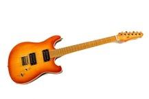 Franfret Guitars Rocket Ride Deluxe ready To Sell 2014 Gloss Nitro Sunburst