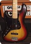 Fender Jazz Bass Lefty 1975 Sunburst