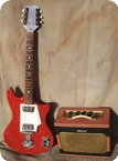 Wandre Twist Davoli Amp 1960 Sparkle Red
