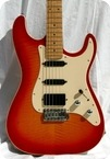 Schecter USA Super Strat 1983 Sunburst Flame Top