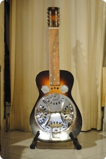 dobro dobro 10 string 1975 sunburst guitar for sale rome vintage guitars. Black Bedroom Furniture Sets. Home Design Ideas