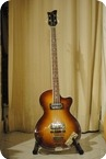 Hofner Club Bass 1966 Sunburst