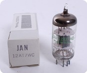 JAN General Electric 12AT7WC 6201 NOS Tube 1986