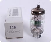 JAN General Electric 12AT7WC 6201 NOS Tube 1986