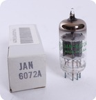 JAN General Electric 6072A NOS Tube 1985