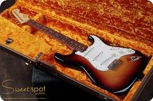 Fender 1960 Stratocaster Custom Shop Strat Sunburst Relic CS 60 Limited 1998 3 Tone Sunburst