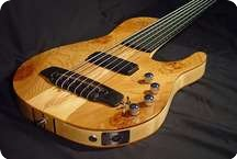 Chris Larkin Single Cut Basses 2014 Natural