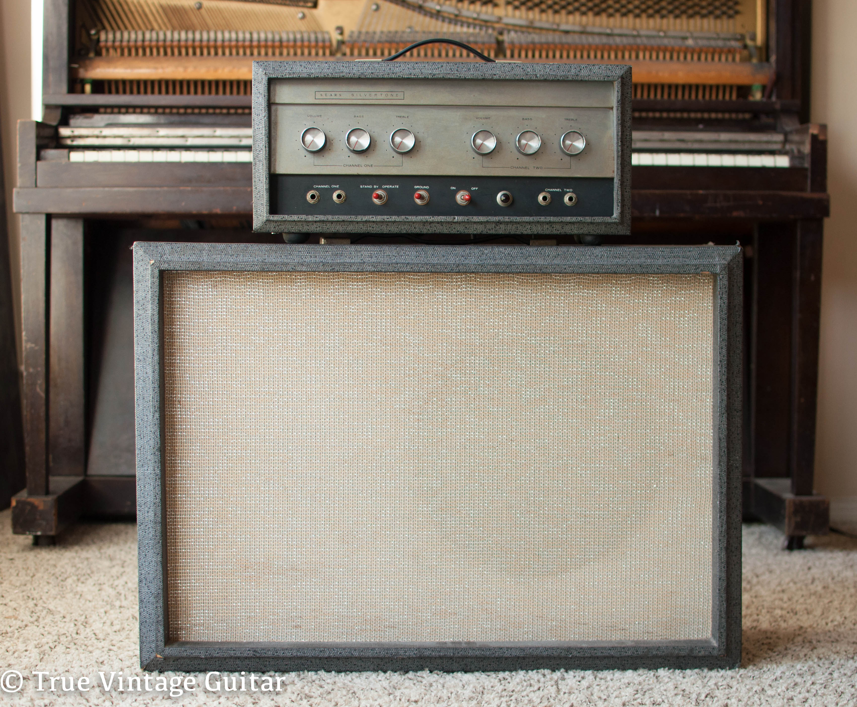 Silvertone 1483 1966 Amp For Sale True Vintage Guitar