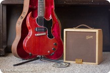 Gibson Les Paul Jr And Skylark Amp 1961 Cherry