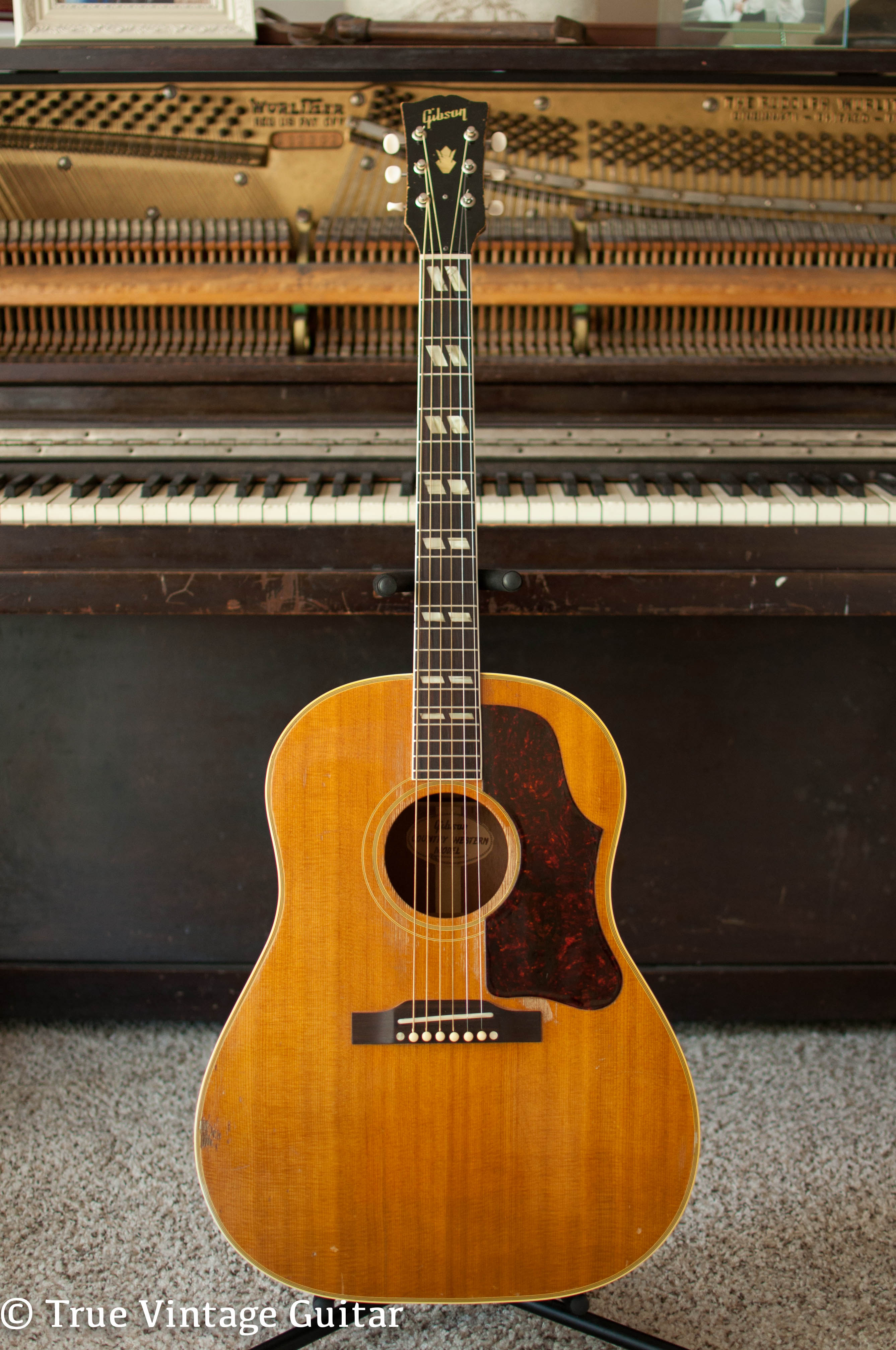 Gibson Guitars For Sale >> Gibson Country Western 1957 Guitar For Sale True Vintage Guitar