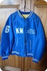 THE WHO KEITH MOON JACKET TORONTO MAPLE LEAFS 1976 BLUE