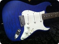 Fender Custom Shop Stratocaster Deluxe 2015 Blue Quilted