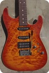 Tom Anderson Hollow Drop Top 2015 Fire Burst Flam Top