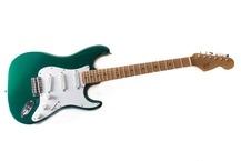 Franfret Guitars Sparkly 2015 GlossCandy Green