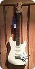 Sq Squier fender Stratocaster 1983 White