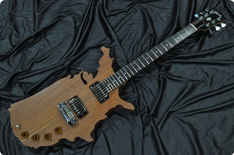 Gibson Map 1983 Mahogany