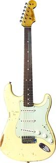Fender Custom Shop 1963 Stratocaster Dealer Select 2015 Aged White