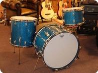 Slingerland USA Vintage 1958 Blue Sparkle