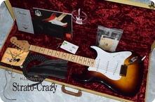 Fender Custom Shop 60th Anniversary 54 Stratocaster N.O.S. 2014 Sunburst