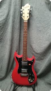 Hagstrom Hagstom Partner 1980 Red And Black