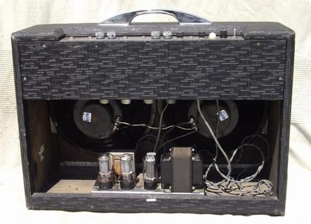 gretsch 6159 dual bass 1960 amp for sale hendrix guitars. Black Bedroom Furniture Sets. Home Design Ideas