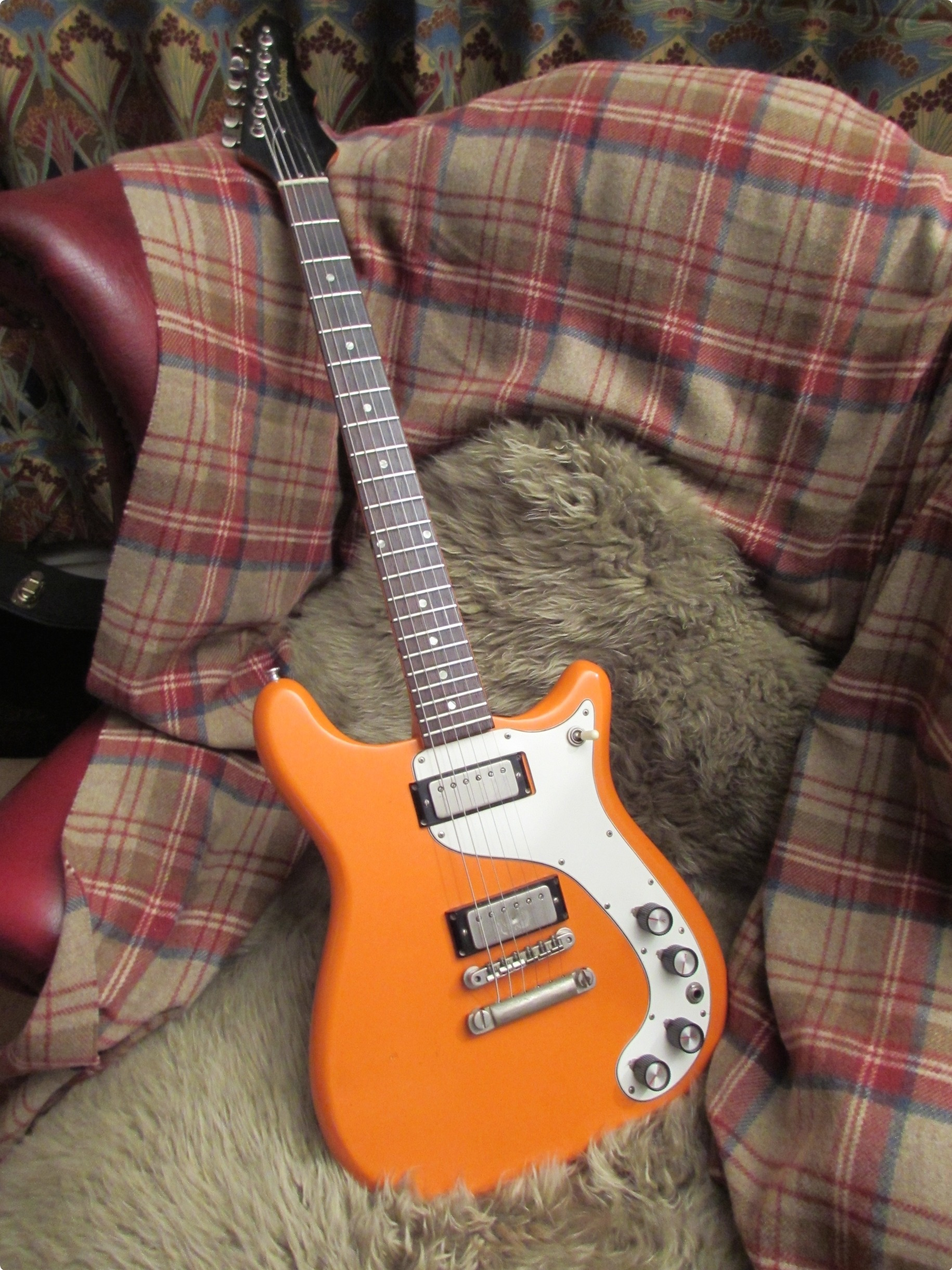 Epiphone Wilshire 1963 California Coral Guitar For Sale Rock
