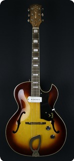Guild Ce 100 1963 Sunburst