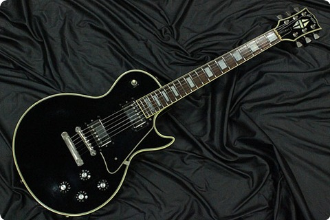 Greco 1981 Egc Limited Gibso Egc Ltd Les Paul Custom With Gibson P Up 1981 Black