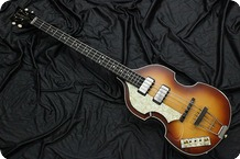 Hofner 5001 61Cavern Lefty 2000 Sunburst