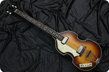 Hofner 5001 62 World History Limited Lefty 2007 Sunberst