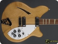 Rickenbacker 360 1966 Mapleglo Natural