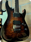 Esp Horizon FR II Dark Brown Sunburst 2015 Dark Brown Sunburst