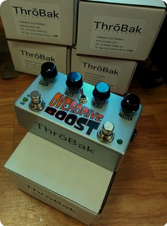 Throbak Overdrive Boost 2010