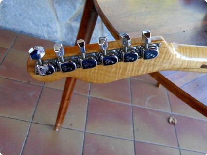 Fender Telecaster (curly Maple Neck) 1971 Blonde