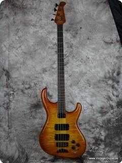 Alembic Elan 1991 Brown Burst Bass For Sale Vintage Guitar Oldenburg