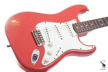 Fender Masterbuilt John Cruz 1960 Relic Stratocaster 2006 Fiesta Red