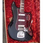 Fender BASS VI 1967 Black