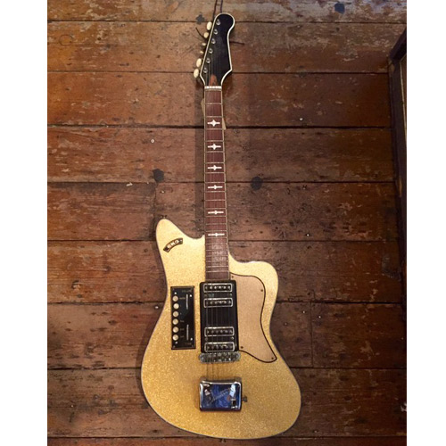 eko 400 ekomaster 1961 gold sparkle guitar for sale denmark street guitars. Black Bedroom Furniture Sets. Home Design Ideas
