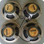 Celestion 20W Greenback Quad 4x12 Speakers 1966