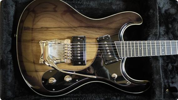 Roger Daguet Guitare Mosrite 2015 Natural