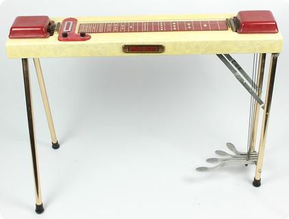 multi kord 6 strings pedal steel guitar 1950 39 s guitar for sale. Black Bedroom Furniture Sets. Home Design Ideas