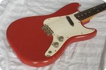 Fender Musicmaster 1962 Dakota Red