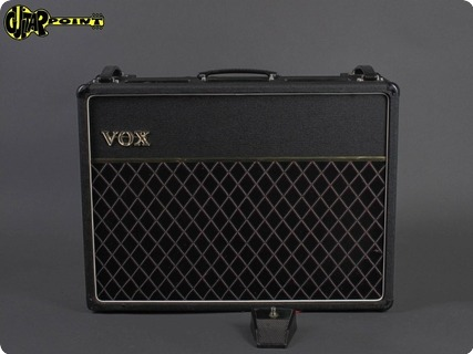 Vox AC 30 Top Boost 1979 Black Levant Amp For Sale GuitarPoint